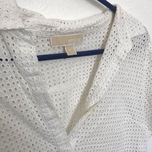 White Michael Kors blouse